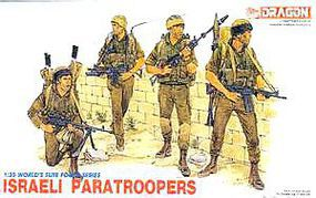 Israeli Paratroopers Plastic Model Military Figure 1/35 Scale #3001