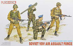 DML Soviet VDV Air Assault Force Plastic Model Military Figure 1/35 Scale #3003