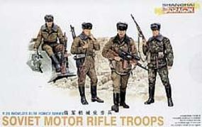 DML Soviet Motor Rifle Troops (4) Plastic Model Military Figure 1/35 Scale #3008