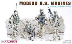 DML Modern US Marines (4) Plastic Model Military Figure 1/35 Scale #3027