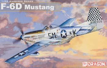 F-6D Mustang Plastic Model Airplane Kit 1/32 Scale #3202