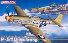 DML P51D Early Fighter Plastic Model Airplane Kit 1/32 Scale #3205