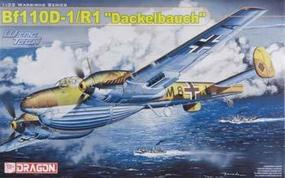 DML Bf110D1/R1 Dackelbauch Heavy Fighter/Bomber Plastic Model Airplane Kit 1/32 Scale #3207