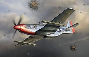 DML P-51K Mustang w/4.5 M10 Rocket Launcher Plastic Model Airplane Kit 1/32 Scale #3224