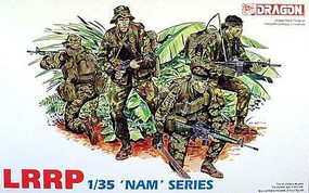 DML US Army LRRP Team (4) (Re-Issue) Plastic Model Military Figure 1/35 Scale #3303