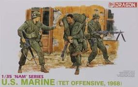 DML US Marines TET Offensive 68 Plastic Model Military Figure 1/35 Scale #3305