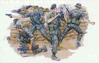 Green Berets 4 Figure Set