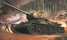 DML NVA T-34/85M Plastic Model Military Tank 1/35 Scale #3318