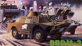 DML BRDM-2 Plastic Model Military Vehicle 1/35 Scale #3513