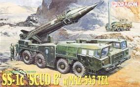 DML SS-1c Scud B w/MAZ-543 TEL Plastic Model Military Figure 1/35 Scale #3520