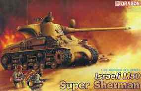 DML Israeli M50 Super Sherman Plastic Model Military Vehicle 1/35 Scale #3528
