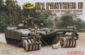 DML M1 Panther II Mine Detection/Clearing Tracked Vehicle Plastic Model Kit 1/35 Scale #3534
