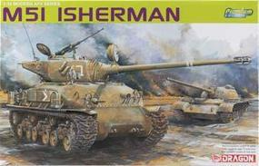 DML M51 Super Sherman Premium Ed Plastic Model Military Vehicle 1/35 Scale #3539