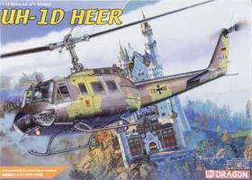 DML UH-1H HEER Helicopter Plastic Model Helicopter Kit 1/35 Scale #3542