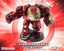DML 6 Bobblehead Age of Ultron Hulk Buster Plastic Model Comic Book Figure #36015