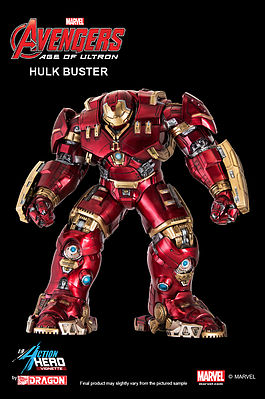 Dragon Models Age Of Ultron Hulk Buster Action Hero -- Plastic Model Comic Book Figure Kit -- 1/9 Scale -- #38146