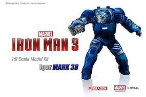 Iron Man 3 Mark XXXVIII Igor Model Kit Plastic Model Comic Book Figure 1/9 Scale #38334