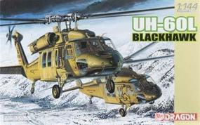 DML UH-60L Blackhawk (2 Helicopters) Plastic Model Helicopter Kit 1/144 Scale #4578