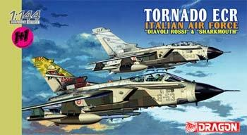 DML Tornado ECR Italian AF Spec Marking (2) Plastic Model Airplane Kit 1/144 Scale #4602