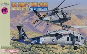 DML USN MH60S HSC23 Wild Cards & HSC21 Black Jacks Plastic Model Helicopters 1/144 Scale #4616