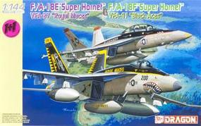 DML F/A18E & F/A18F Super Hornet Fighter Plastic Model Airplane Kit 1/144 Scale #4618