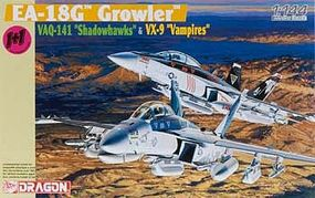 DML EA18G Growler VAQ141 Shadowhawks & VX9 Vampires Plastic Model Airplane Kit 1/144 #4623
