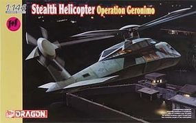 DML Stealth Helicopter Operation Geronimo Plastic Model Helicopter Kit 1/144 Scale #4628