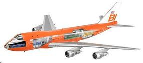 DML 747-100 Braniff Airliner w/Cutaways Plastic Model Airplane Kit 1/144 Scale #47011