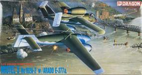 DML MISTEL 5 He162A-2 W/E-377A Plastic Model Airplane Kit 1/72 Scale #5002