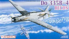 DML Do335B4 Recon Aircraft Plastic Model Airplane Kit 1/72 Scale #5033