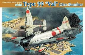 DML Aichi Type 99 Val Dive Bomber Plastic Model Airplane Kit 1/72 Scale #5045