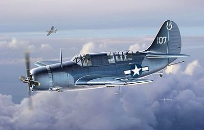 DML SB2C3 Helldiver Dive Bomber Plastic Model Airplane Kit 1/72 Scale #5059