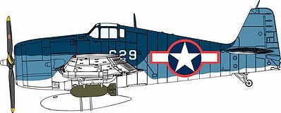 DML F6F3 Hellcat Fighter Plastic Model Airplane Kit 1/72 Scale #5060