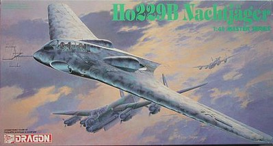 DML Ho229B Nachtjager Plastic Model Airplane Kit 1/48 Scale #5511