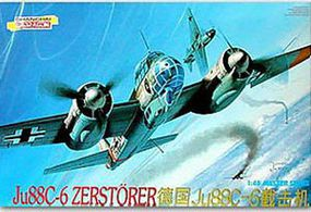 DML Ju88C-6 Zerstorer Plastic Model Airplane Kit 1/48 Scale #5536