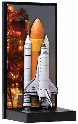 DML NASA Space Shuttle Discovery w/SRB STS124 Memorable Missions 1/400 Scale #56373