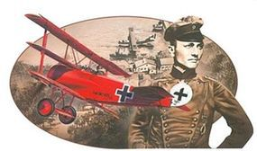 DML Fokker Dr.I Red Baron Knights Sky Collection Plastic Model Airplane Kit 1/48 Scale #5903