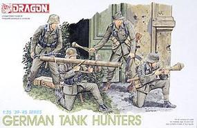 DML German Tank Hunters Plastic Model Military Figure Kit 1/35 Scale #6034
