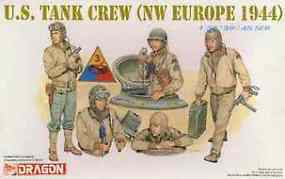 DML US Tank Crew NW Europe (5) (Re-Issue) Plastic Model Military Figure Kit 1/35 Scale #6054