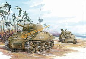 DML M4A2 Sherman Tarawa New Tooling Plastic Model Tank 1/35 Scale #6062