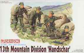 DML 13th SS Mountain Troops Plastic Model Military Figure Kit 1/35 Scale #6067