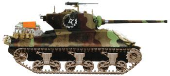 Dragon Models M4A1 (76mm)W Tank Operation Cobra -- Plastic Model Tank Kit -- 1/35 Scale -- #6083