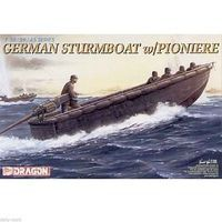 DML German Sturmboat Plastic Model Military Ship Kit 1/35 Scale #6108