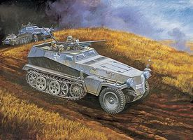 DML Sd.Kfz 250-10 with 37cm PAK Plastic Model Military Vehicle Kit 1/35 Scale #6139