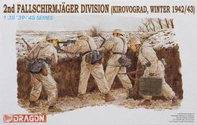 DML 2nd Fallschirmjager Division Plastic Model Military Figure 1/35 Scale #6157