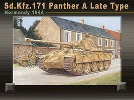 DML Sd.Kfz. 171 Panther A Late Normandy 44 Plastic Model Tank Kit 1/35 Scale #6168