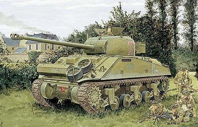 DML Firefly Vc Tank Plastic Model Tank Kit 1/35 Scale #6182