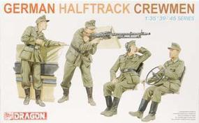 DML German Half-Track Crewmen Plastic Model Military Figure 1/35 Scale #6193