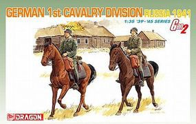 DML German 1st Cavalry Division Plastic Model Military Figure 1/35 Scale #6216