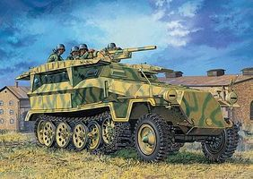 DML Sd.Kfz.251/7 Ausf.C Pionierpanzerwagen Plastic Model Military Vehicle Kit 1/35 Scale #6224
